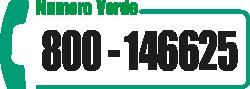 numero verde 800146625